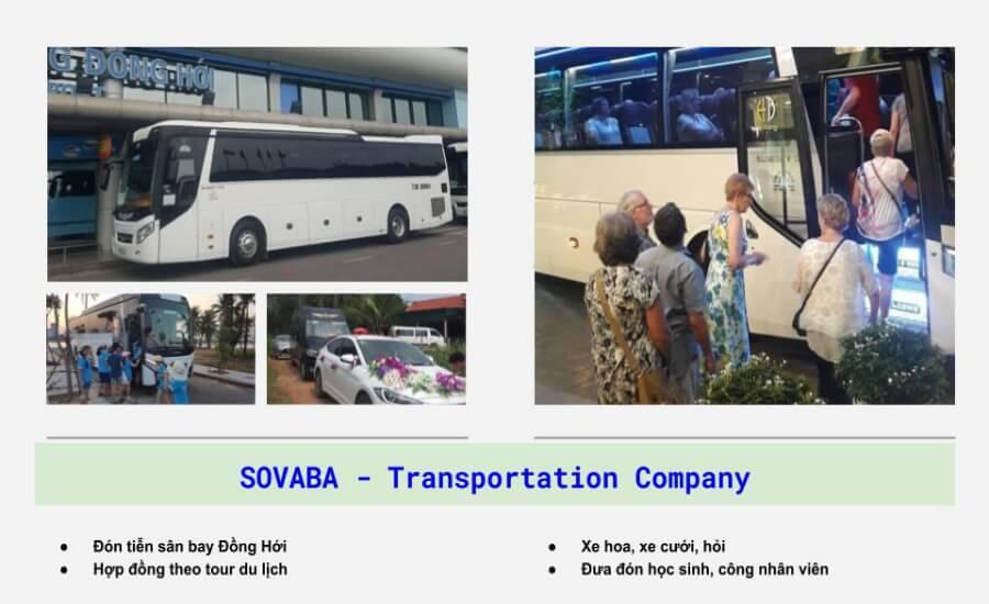 Các dịch vụ cho thuê xe du lịch Quảng Bình