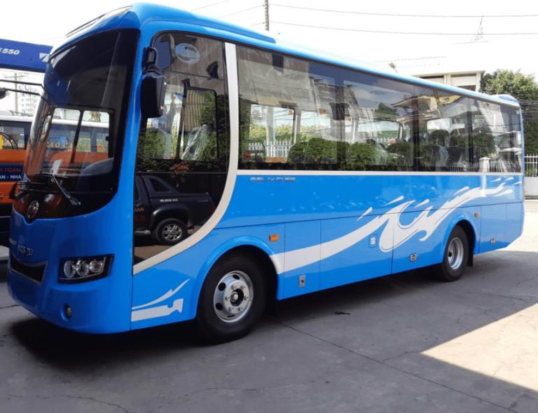 Cho thuê xe 29 chỗ Samco đời mới, Samco đóng thùng. tại Quảng Bình