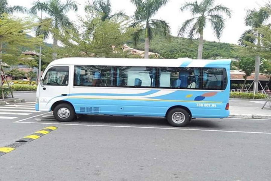 Thuê xe 29 chỗ tại Quảng Bình đi các tỉnh lân cận