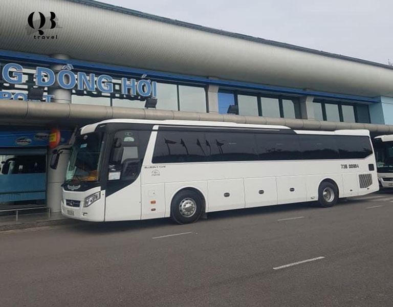 Xe du lịch 45 chỗ tại QBTravel đời mới 2019 trở lên