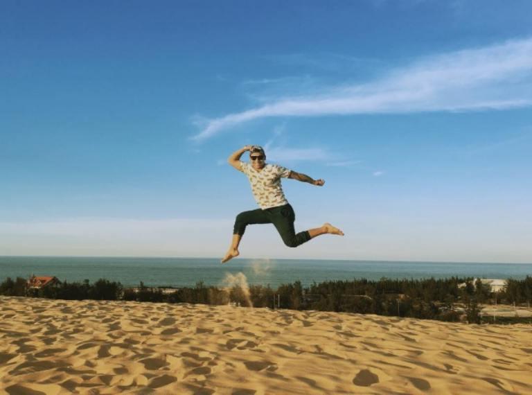 Thiên đường cát của Quảng Bình