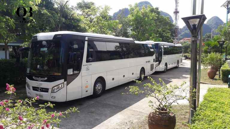 Giá thuê xe du lịch 45 chỗ Quảng Bình tại QBTravel luôn tốt nhất