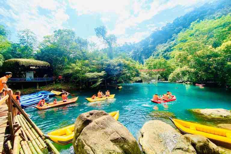 Suối Moọc - Chốn thiên đường tuyệt đẹp tại Quảng Bình