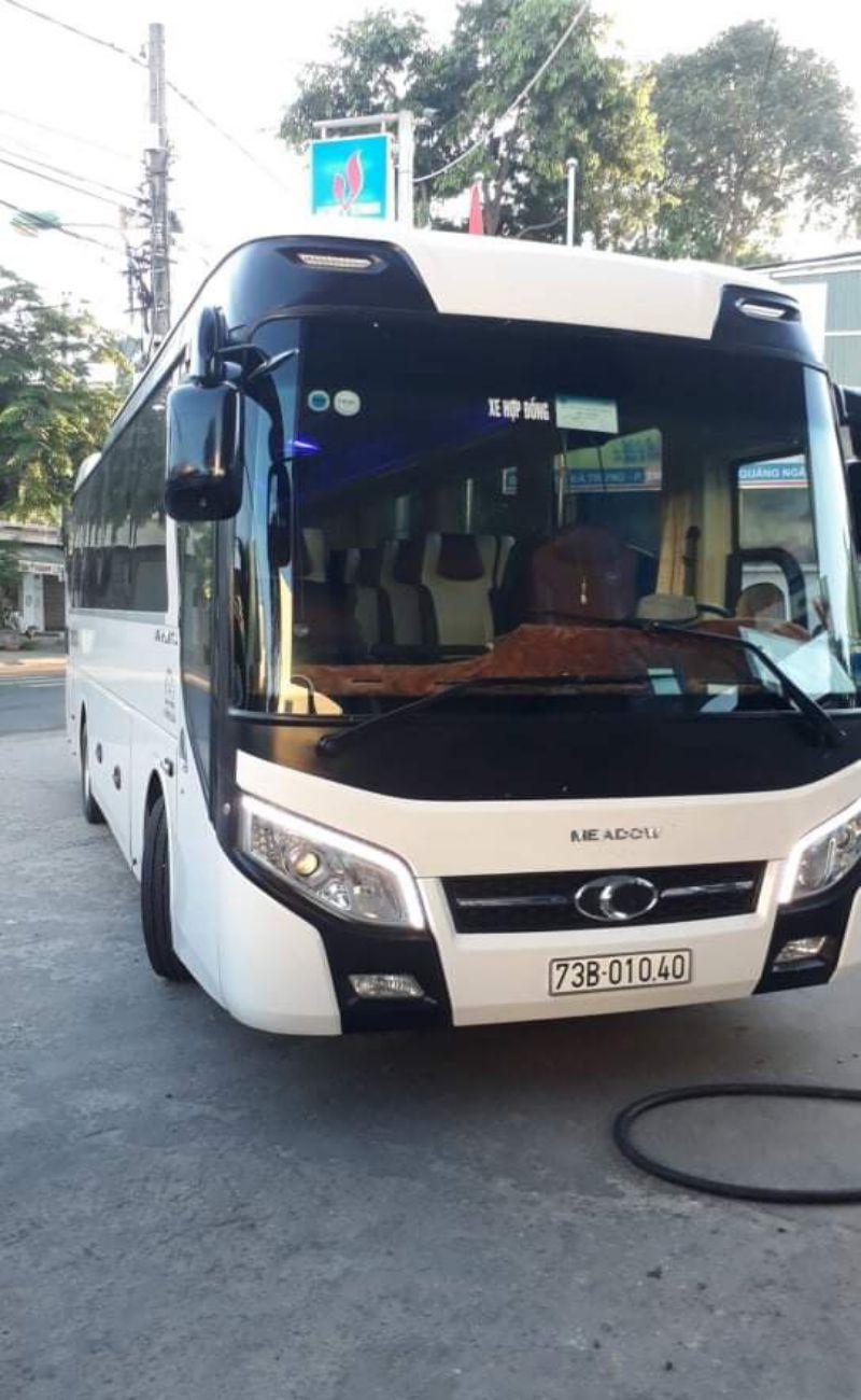 Cho thuê xe du lịch 35 chỗ tại Quảng Bình Thaco đời mới nhất tại Quảng Bình