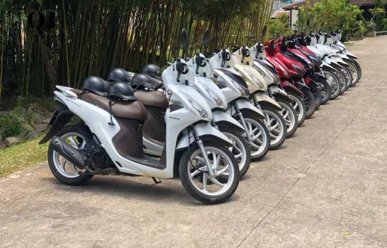 Thuê xe máy vi vu Quảng Bình