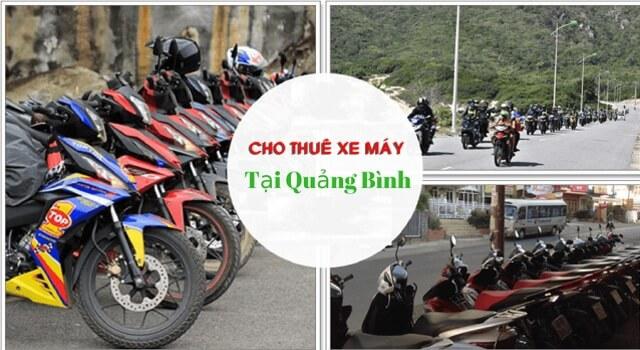 Cho thuê xe máy ở Quảng Bình