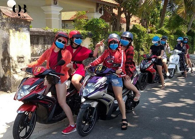 QB Travel - địa chỉ cho thuê xe máy Quảng Bình uy tín