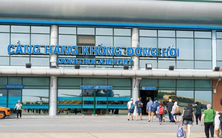 Những tuyến xe trung chuyến sân bay Đồng Hới đến các địa điểm du lịch