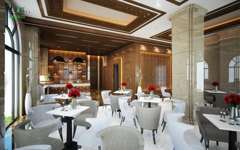 Nhà hàng sang trọng tại CKC Thiên Đường Quảng Bình
