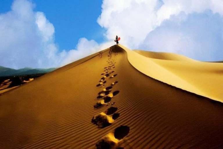 Một thiên đường cát của Quảng Bình tại đồi cát Quang Phú