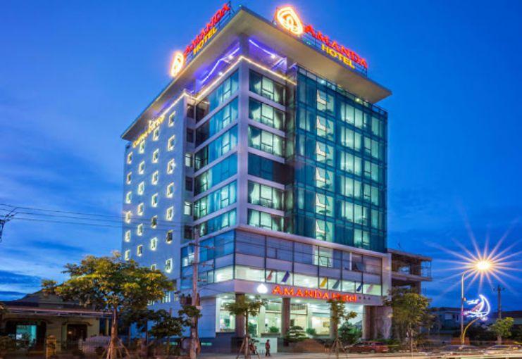 Một cảnh chiều muộn tại khách sạn Amanda Quảng Bình