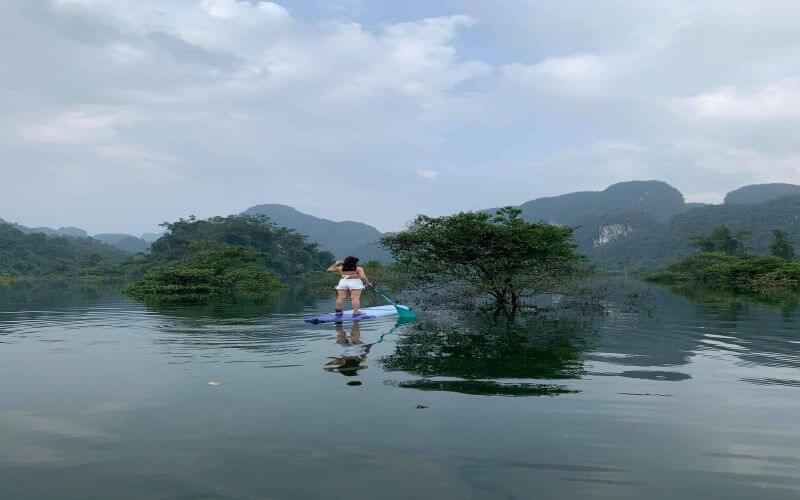 Hệ sinh thái bán ngập nước mùa lũ tại Quảng Bình
