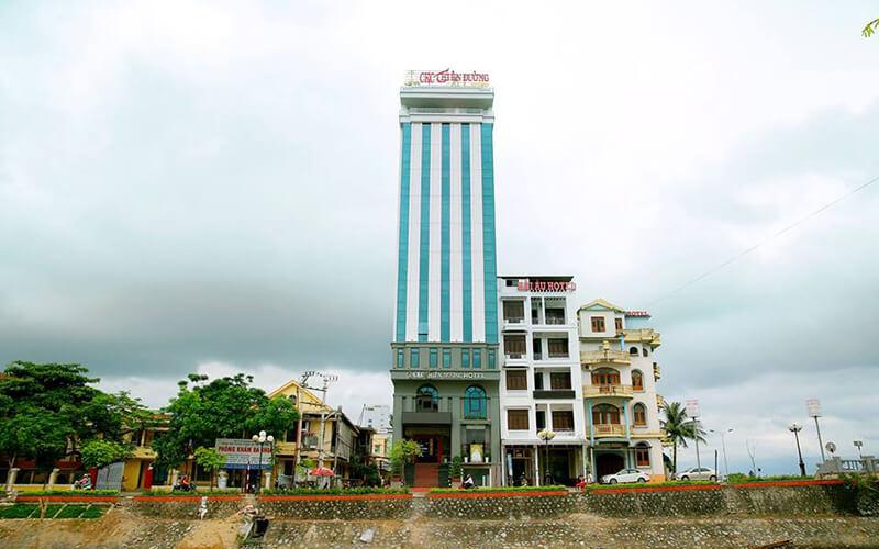 Khách sạn CKC Thiên Đường Quảng Bình chiếm ưu thế không bị khuất tầm nhìn