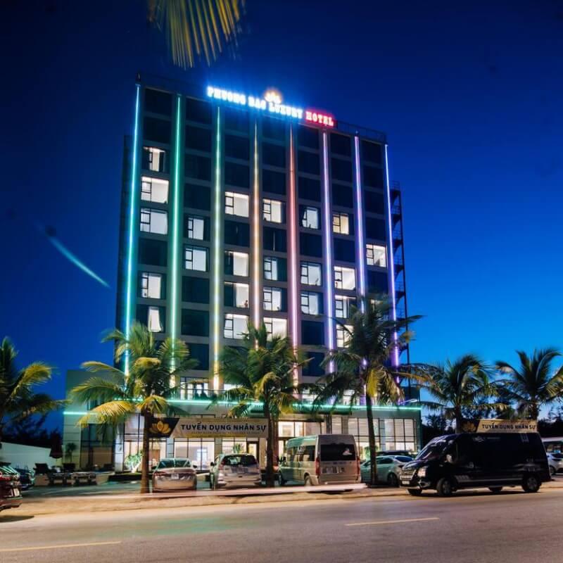 Khách sạn Phương Bắc Quảng Bình khi đêm về