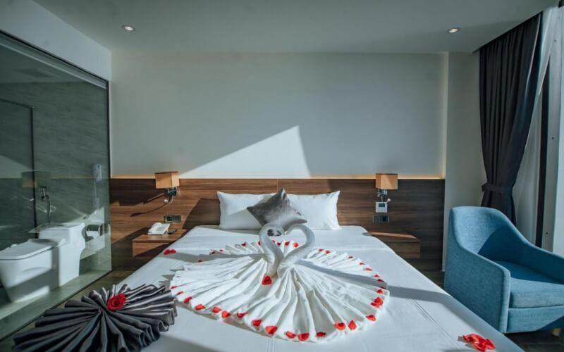 Phòng VIP hướng biển tại khách sạn Phương Bắc Quảng Bình