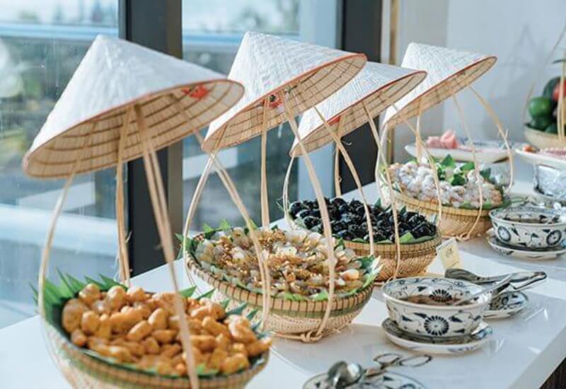 Menu đa dạng tại Khách sạn Phương Bắc luxury Quảng Bình