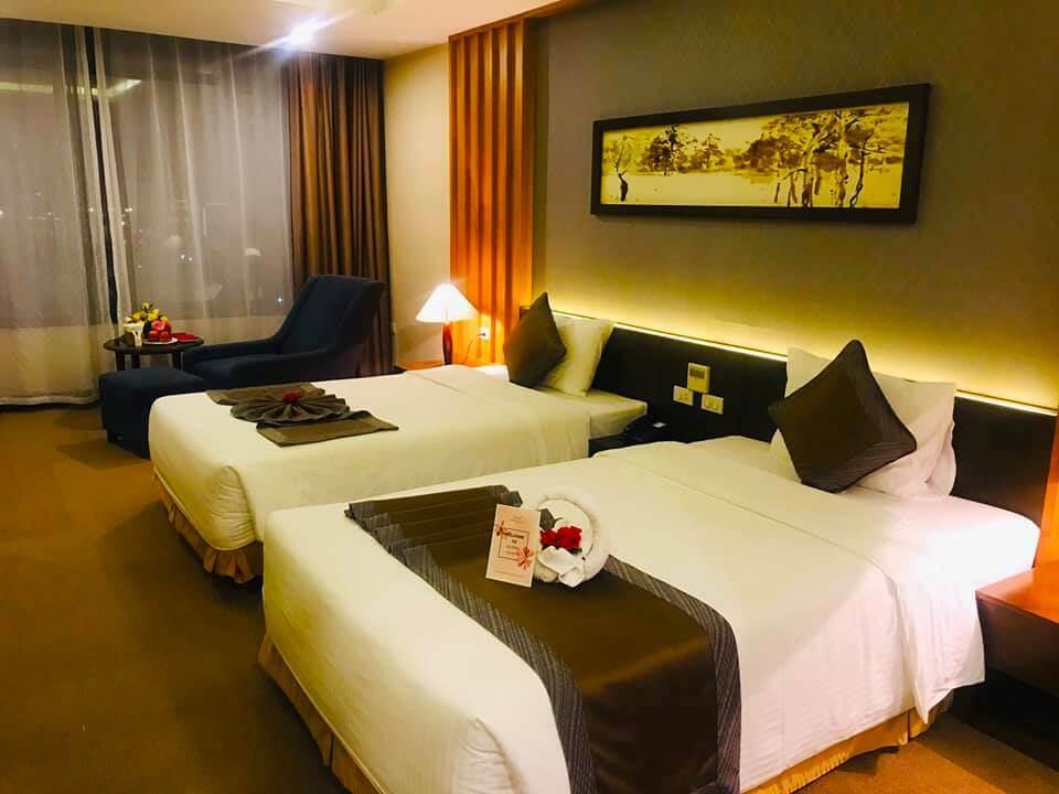 Phòng Grand suite tại Mường Thanh luxury Quảng Bình