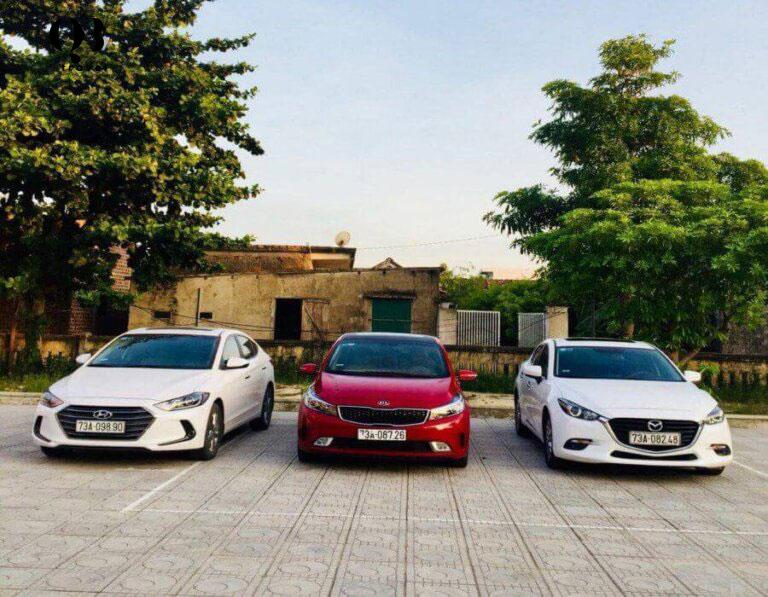 QBTravel cung cấp dòng xe đa dạng, cao cấp khi thuê xe 4 chỗ tự lái