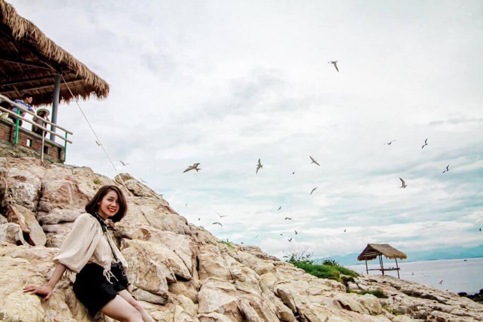 Check in Đảo Yến