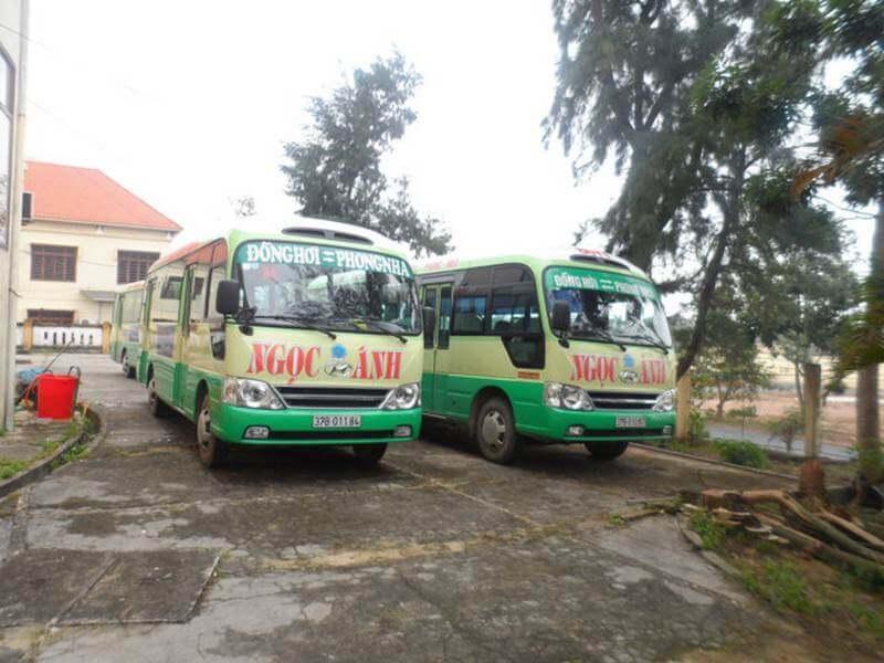 Tuyến xe buýt Quảng Bình B4 đưa du khách từ Đồng Hới đi Phong Nha Kẻ Bàng