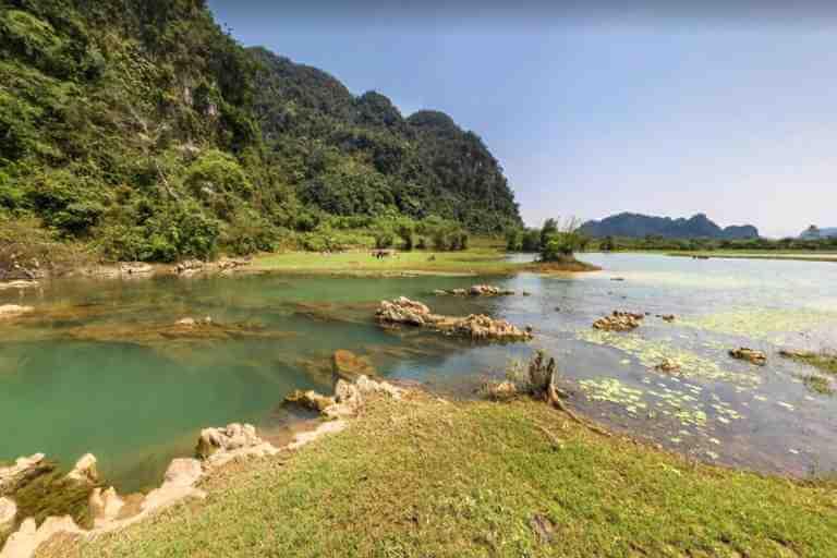 """Hồ Yên Phú là nơi bộ phim bom tấn """"Kong: Skull Island"""" được quay ở đây."""