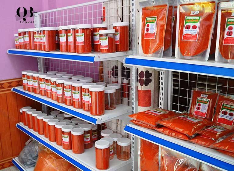 Ớt bột Hồng Thủy được lựa chọn buôn bán nhiều trên thị trường
