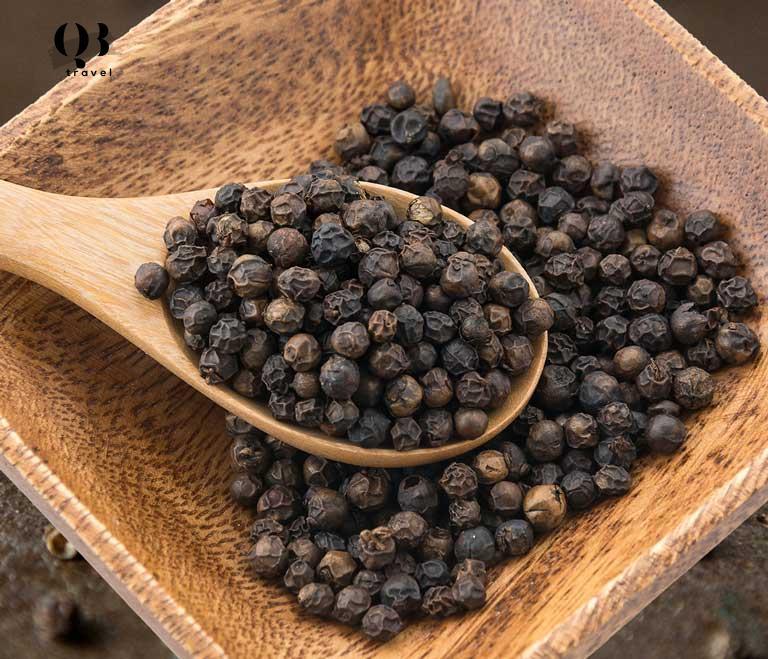 Tiêu đen Lệ Thủy sử dụng tiêu sạch làm nên hương vị đặc sản