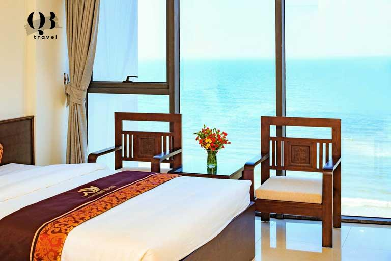 Phòng Deluxe Double Seaview