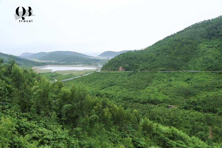 Đèo Ngang ranh giới giữa Quảng Bình và Hà Tình