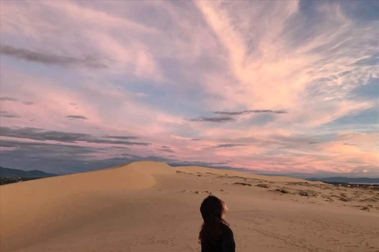 Thiên đường cát ở Quảng Bình