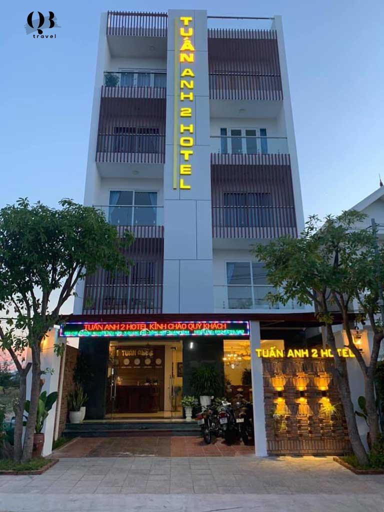 Khách sạn Tuấn Anh 2 Quảng Bình vào một chiều hoàng hôn