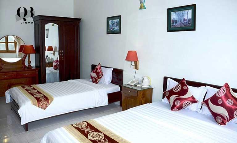 Phòng tiêu chuẩn tại khách sạn Ban Mai Quảng Bình