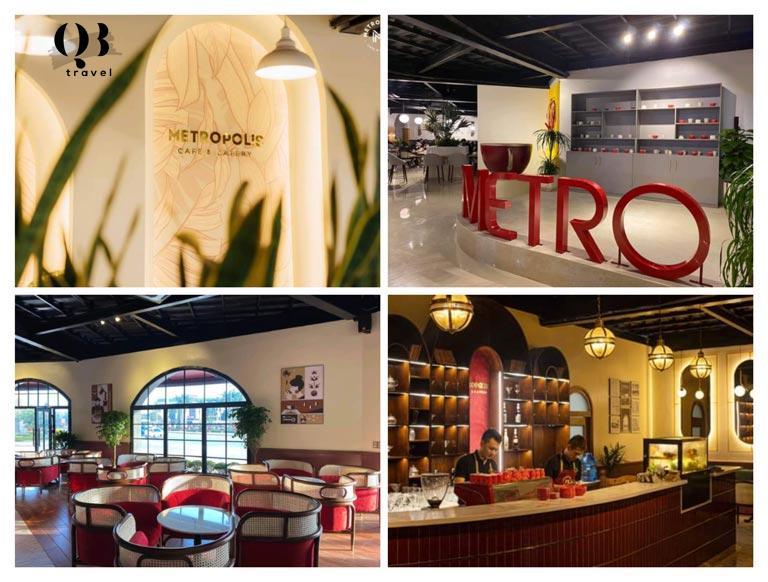 Metropolis Coffee & Eatery vô cùng phong cách và sang trọng