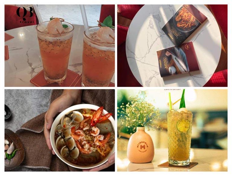 Đa dạng món ăn và đồ uống được nhiều khách ưa chuộng