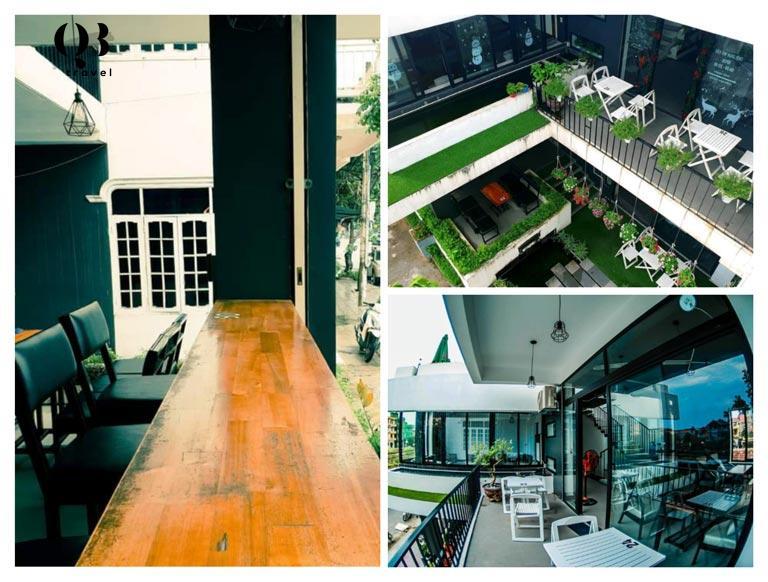 Không gian lớn và 3 tầng với nhiều góc đẹp để bạn thưởng thức cafe hay chụp ảnh