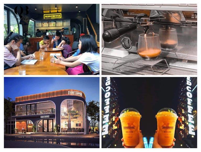 Với nội thất tối giản, lịch sử Iced Coffee vẫn khá nổi bật về vẻ ngoài