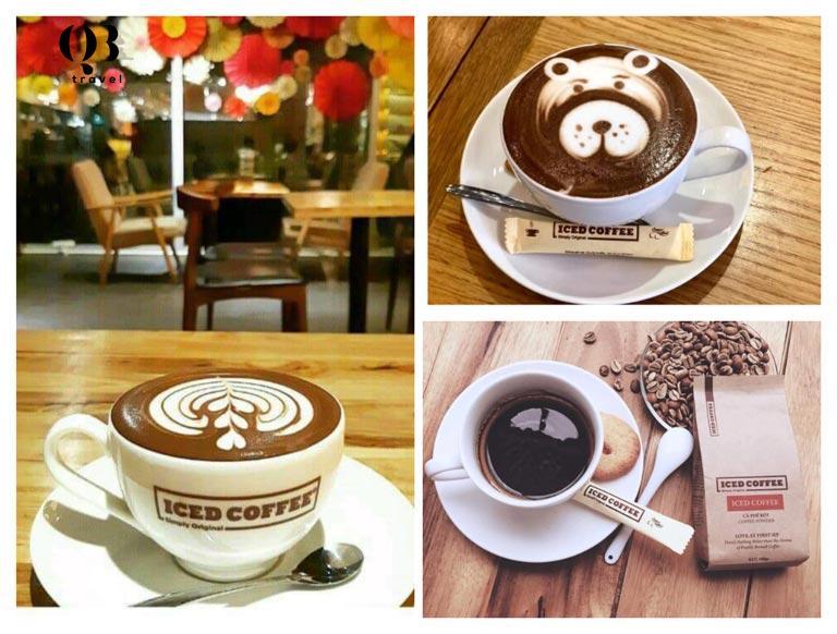 Những tách cafe được pha chế chuyên nghiệp, khéo léo tại đây