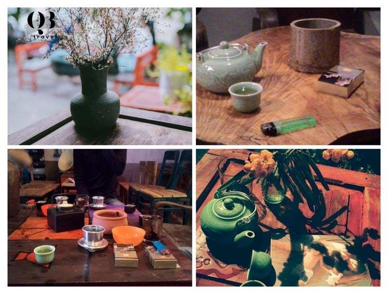 Người ta thường lui tới đây uống cafe và truyện trò vui vẻ, thưởng thức nghệ thuật