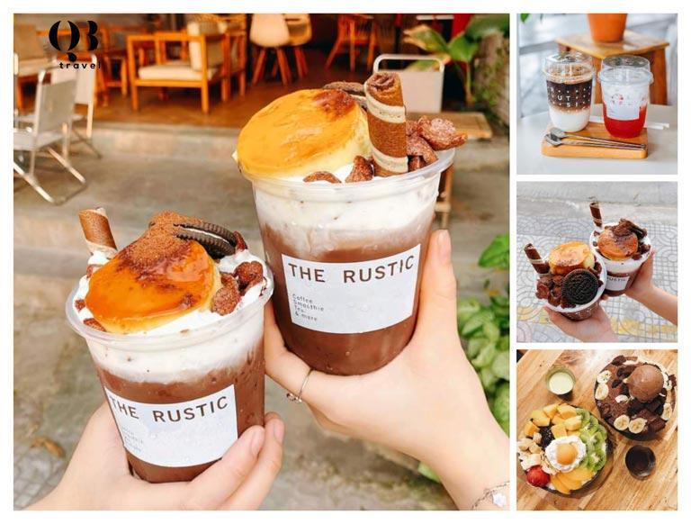 Đồ uống và hương vị món ăn ai cũng mê của Rustic
