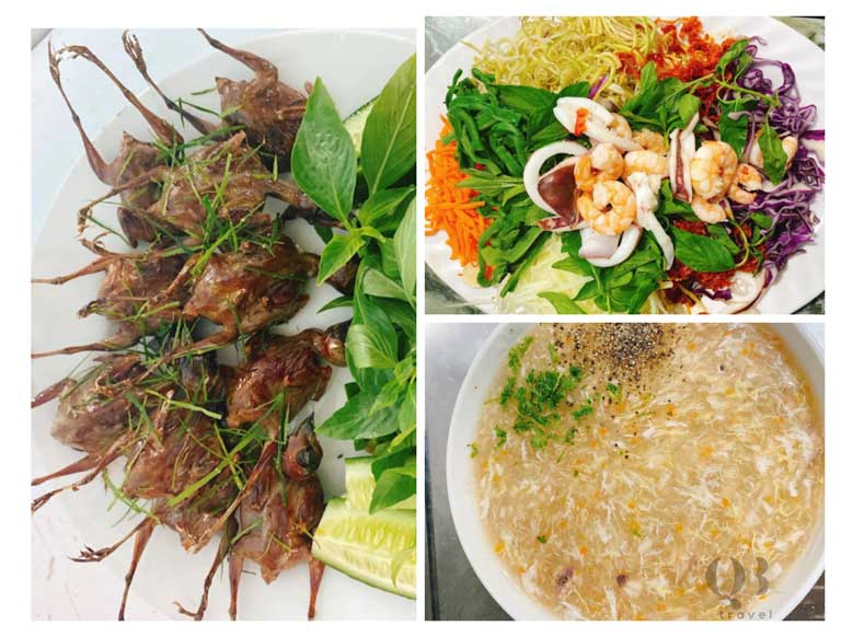 Hoàng Như Quán mang lại những món hải sản đặc biệt, có vị ngon riêng
