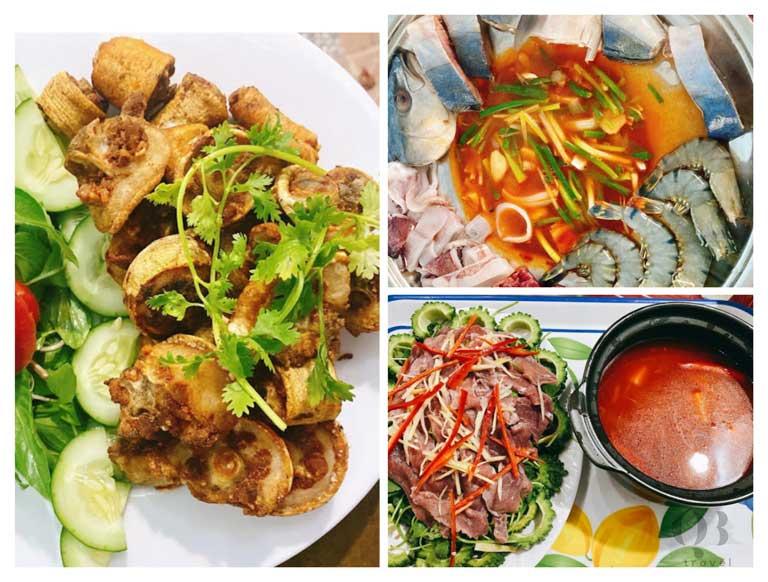 Hoàng Như Quán cũng là một quán hải sản rất đắt khách tại Quảng Bình