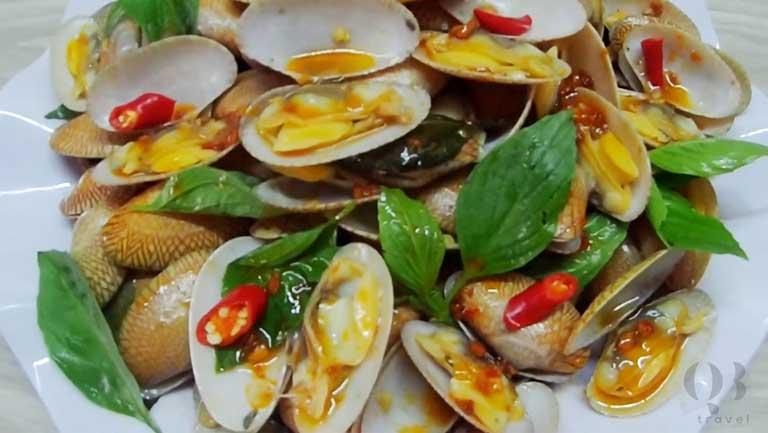 Các món hải sản quen thuộc, gần gũi nhưng không bao giờ ngán như sò lụa xào cực bắt mắt