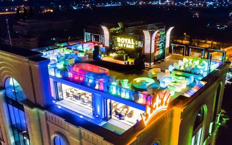 Royal Sky Bar - Tầng thượng Khách sạn Royal