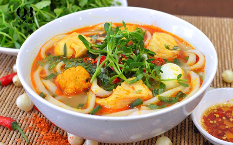 Cháo bánh canh Quảng Bình