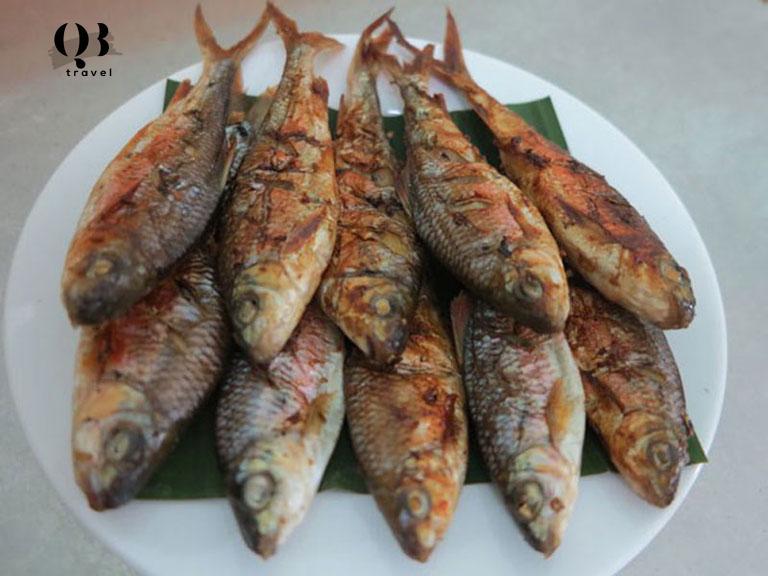Cá mát nướng