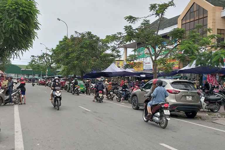 Chợ Đồng Hới phường Hải Đình, trung tâm buôn bán giao thương lớn nhất tỉnh Quảng Bình