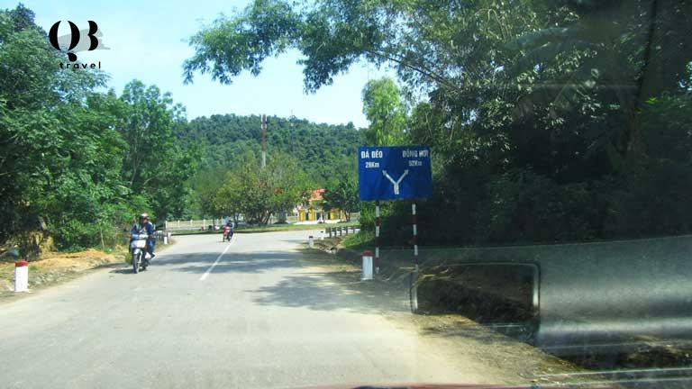 Cung đường đến đèo Đá Đẽo