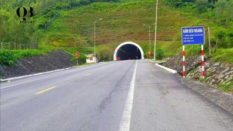 Hầm đường bộ xuyên núi hoành sơn