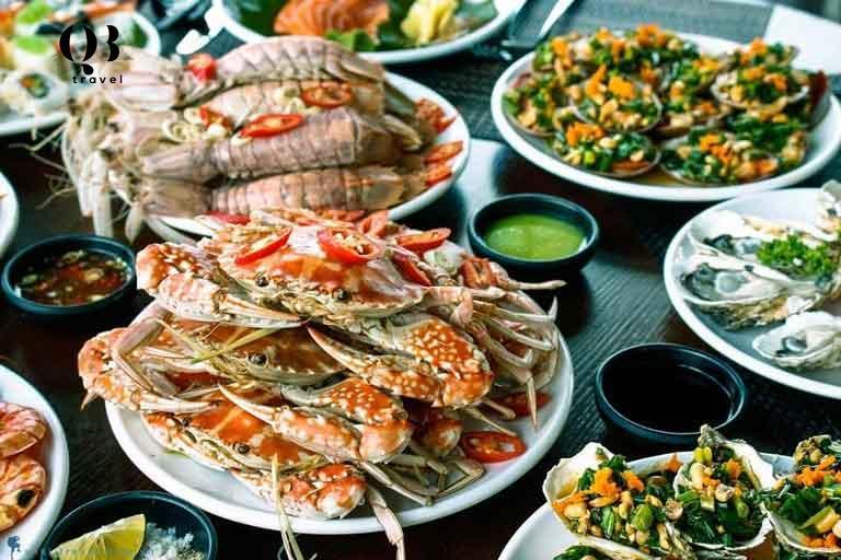 Hải sản tươi ngon tại Đồng Hới Quảng Bình
