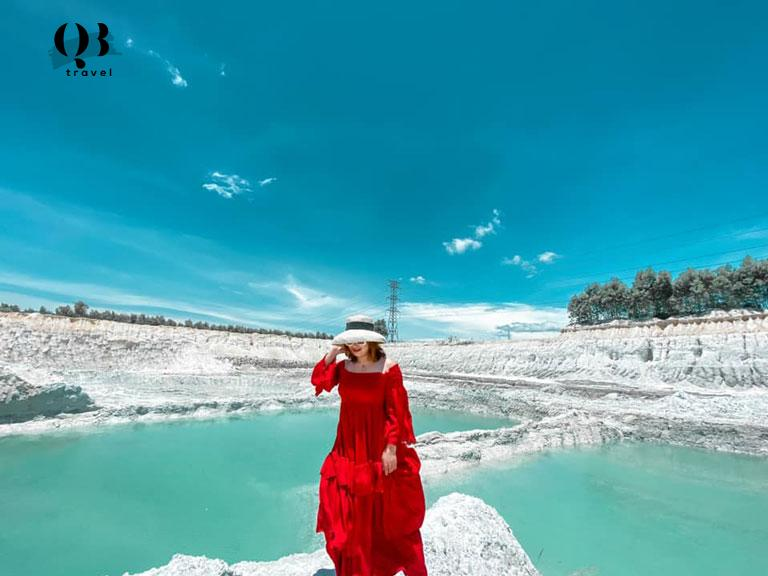 Hồ Cao Lanh đang là địa điểm hot được các bạn trẻ tìm đến checkin